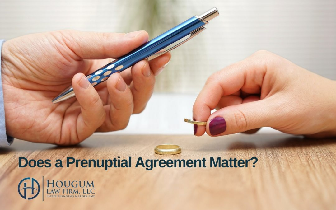 Does a Prenuptial Agreement Matter?