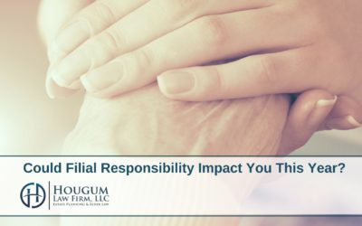 Could Filial Responsibility Impact You This Year?