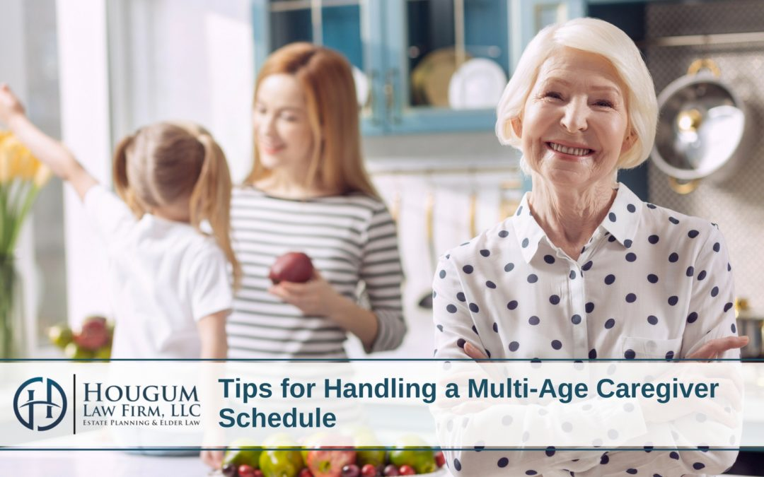Tips for Handling a Multi-Age Caregiver Schedule