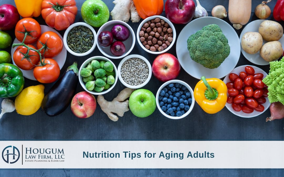 Nutrition Tips For Aging Adults