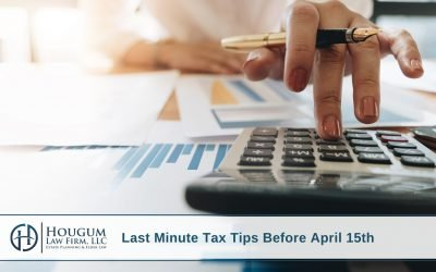 Last Minute Tax Tips Before April 15th