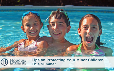 Tips on Protecting Your Minor Children This Summer
