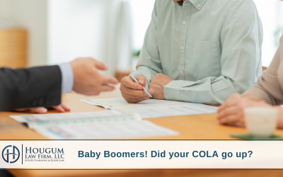 Baby Boomers! Did your COLA go up?