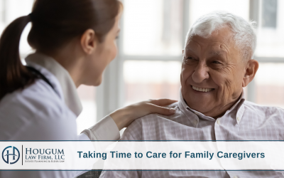 Taking Time to Care for Family Caregivers